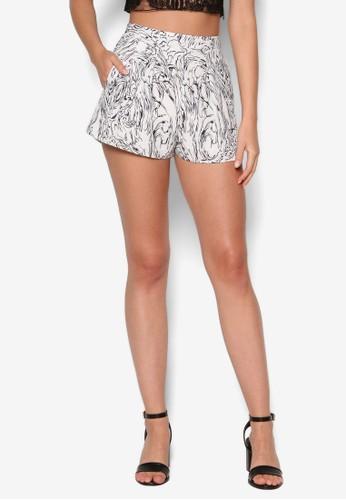 Hesprit 童裝era 印花短褲, 服飾, 短褲