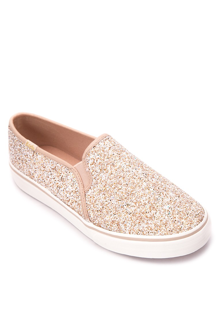 Double Decker Glitter Sneakers