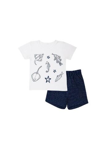 Torio purple Torio Sea Life Comfort Outwear Set - Pakaian Anak Laki-laki Baju Anak Laki-Laki Setelan Anak 77AE1KA0BF4D0EGS_1