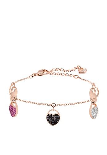 Swarovski 金色 Ginger Heart Soft Bracelet 746F9AC61C8A95GS_1
