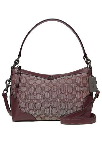 Coach pink Ivie Ew Small Shoulder Bag (cv) A539DACC01FC5FGS_1