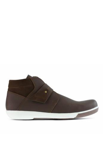 Sogno brown Sepatu Kasual Pria GF.03 05F03SHE3B4B67GS_1
