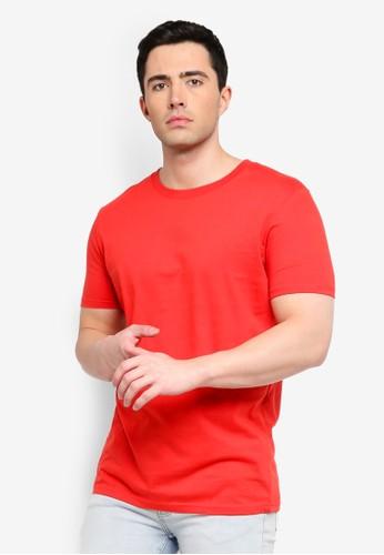 Factorie red Slim T-Shirt 1A4DBAAA3FBE86GS_1