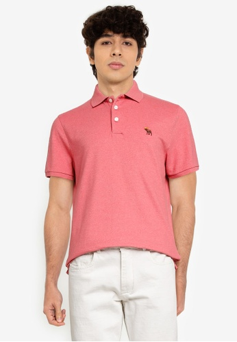 Abercrombie & Fitch pink Webex Core Polo Shirt E6B55AA7969798GS_1