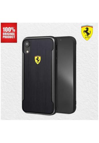 Ferrari black Ferrari On Track SF Alumnium Effect - iPhone XS Max - Black AB640ES7AF3B1CGS_1