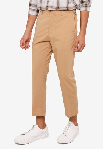 RAGEBLUE brown Casual Chino Pants 60607AA208E002GS_1