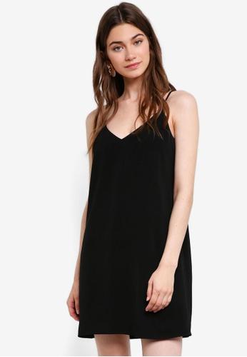 Something Borrowed black Camisole Slip Dress D35AEAA768ABBDGS_1