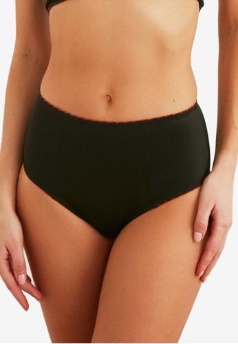 Trendyol black High Waist Bikini Bottom 471BFUS407FABCGS_1