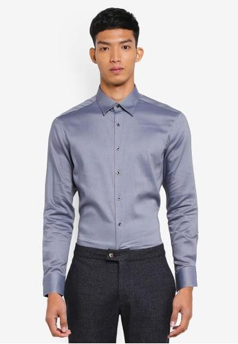 c8085c8d55ac44 Buy G2000 Cotton Twill Long Sleeve Shirt Online on ZALORA Singapore