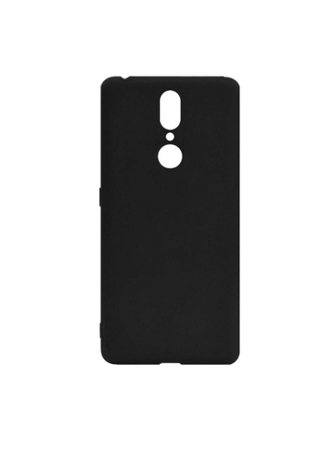MobileHub black Oppo F11 Mobilehub X-Level Soft Case (Black) B2982ACE3BA2ECGS_1