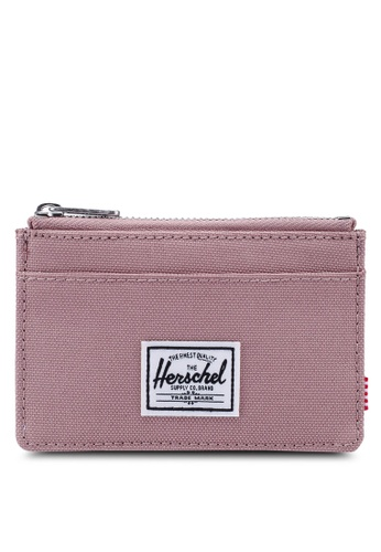Herschel pink Oscar RFID Wallet A6384ACA09459CGS_1