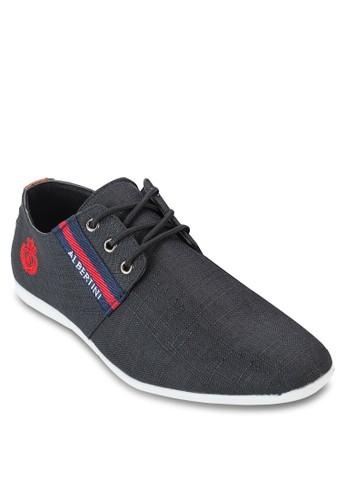 條紋繫帶運動鞋, 鞋esprit outlet 台中, 休閒鞋