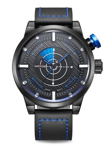 Weide blue WH5201-3C Analog Watch WE088AC86KVTPH_1