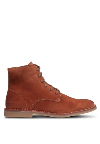 Selected Homme brown Royce High Suede Boots 94F16SH3B2E2D5GS_1