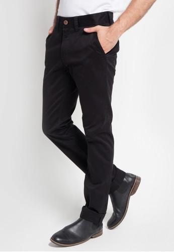 Lois Jeans black Long Pant Twill LO391AA0WOZWID_1