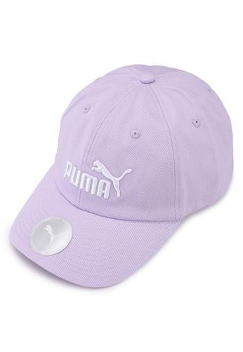 PUMA purple Essentials Cap EEF42ACB9AB1B8GS_1