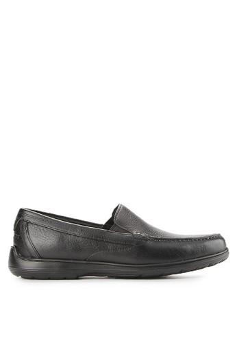 Rockport black Total Motion Loafer RO335SH0VX1VID_1