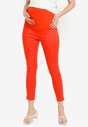 LC Waikiki orange Skinny Maternity Trousers 866BBAA5A9C00EGS_1