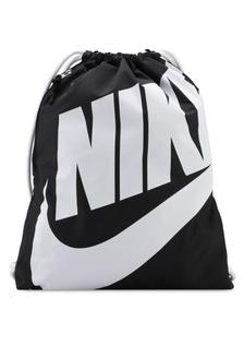 2ae4cb7c4e Unisex Nike Heritage Gym Sack Bag 665E7ACC0ED867GS 1