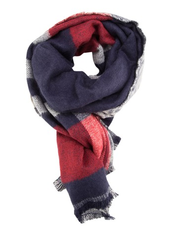格紋設計圍巾, 飾品配件,esprit outlet 台中 圍巾及披肩