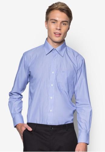素色長袖商務襯衫, esprit outlet 高雄服飾, 服飾