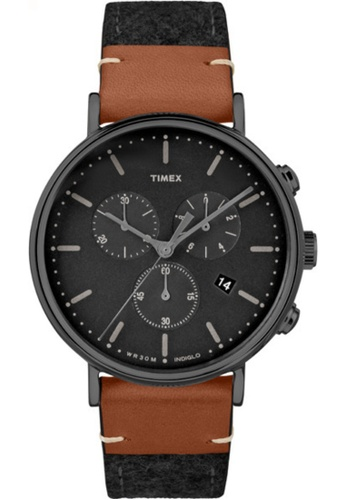 Timex black Timex Fairfield Chrono TW2R62100 D0637ACCF659BCGS_1