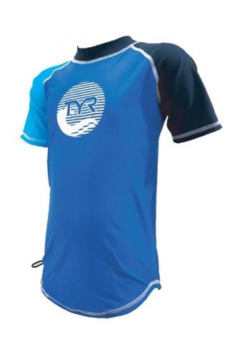 TYR blue TYR Olas Junior Short Sleeve Guard 9D0AEKA459831FGS_1