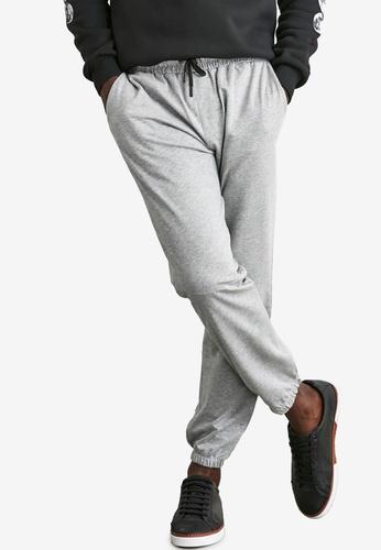 Trendyol grey Classic Joggers FE7ACAA033AABCGS_1