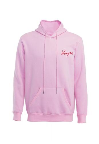 Kayen pink Pink Kayen Hoodie 5FCBBAA7A2D177GS_1