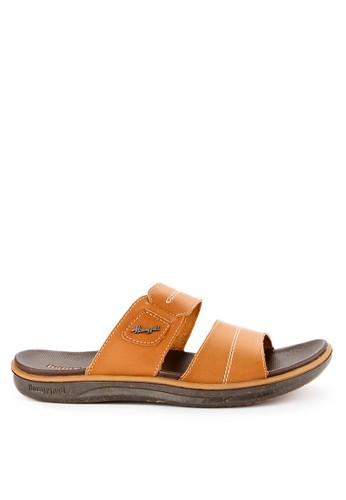 Homyped brown Captiva 02 Men Sandals 62CCFSHEB48B99GS_1