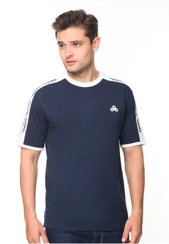 Endorse blue Endorse Tshirt Syn NDRS Stripe Navy Blue - END-RG006 83582AA69A02EEGS_1