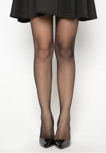Kats Clothing black Small Diamond Panty Hose Net Stocking KA896US0KGFIPH_1