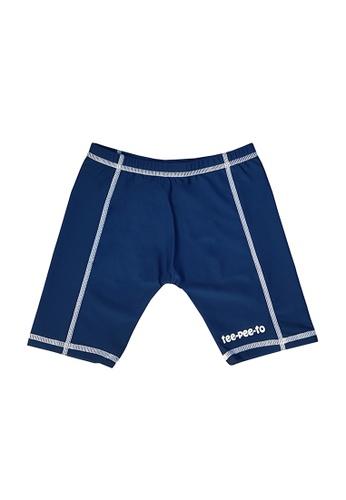 TeePeeTo blue Anchor UV50+ Swim Shorts F8EC1KADC092A5GS_1