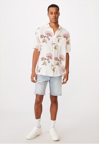 Cotton On multi Short Sleeve Resort Shirt AC345AA124363AGS_1