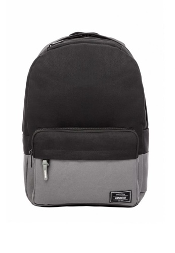 American Tourister black Burzter Backpack 01 D172AAC6C2EA68GS_1