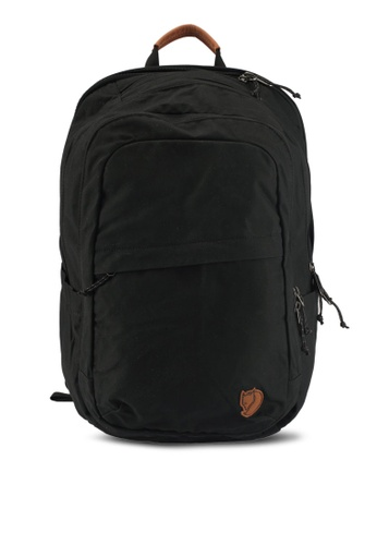 Fjallraven Kanken black Raven 28L Backpack FJ382AC0SX9PMY_1