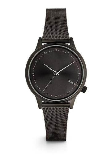 KOMONO black Estelle Royale Royale Black-Silver Watch KO163AC0T0TEMY_1
