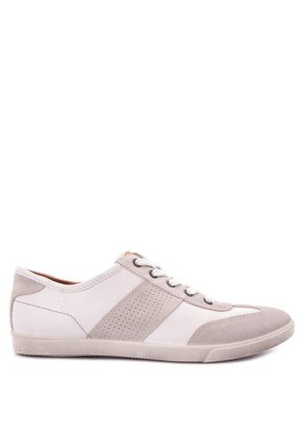 ECCO white Collin Sneakers EC876SH0JC7NPH_1