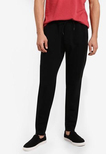 Abercrombie & Fitch black Black Label Jogger Pants AB423AA21IPIMY_1