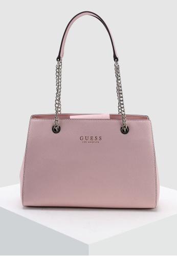 Buy Guess Robyn Girlfriend Satchel Bag Online on ZALORA Singapore aee8833e274d4