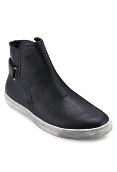 High Top Slip On Sneakers