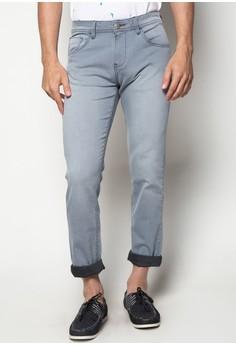 Men's Stretch Indigo Jeans