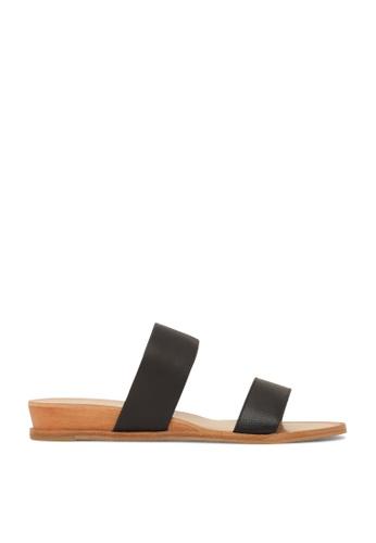 ROC Boots Australia black Pacco Black Sandal RO517SH01QOWHK_1