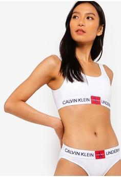 be5eed582 Calvin Klein white Light Lined Bralette - Calvin Klein Underwear  C567EUS3D73FC1GS 1