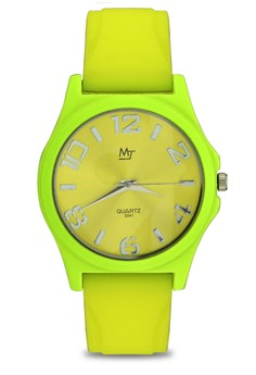 MJ Unisex Casual Analog Watch S041