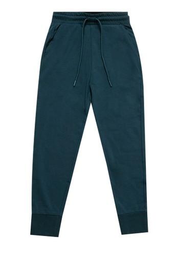 Giordano navy Jogger Pants 805B5KA1ADC815GS_1