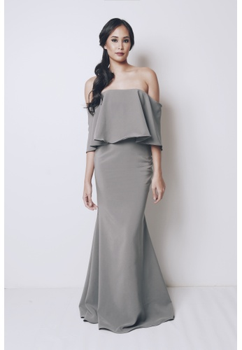 Shop Tantease Emilia Long Gown Online on ZALORA Philippines