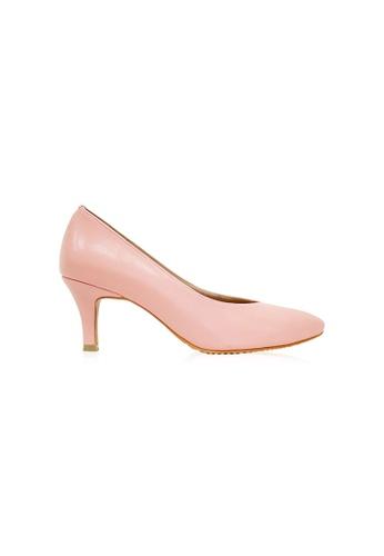 Kiss & Tell 粉紅色 Finley Heels in Dusty Pink 4E6F6SH0175671GS_1