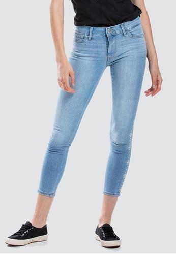 c1c37c599e64e6 Levi's blue Levi's 711 Skinny Ankle Jeans Women 19558-0055  3581DAA9EC7D8DGS_1