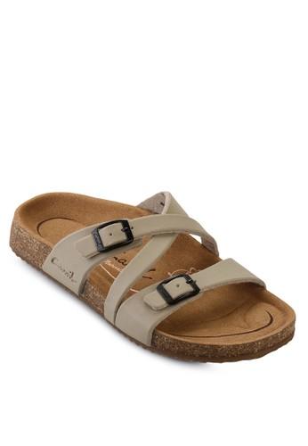 CARVIL Ladies Sandal Footbed Khanza-07L